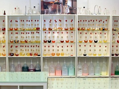 Shelves of Fragrances