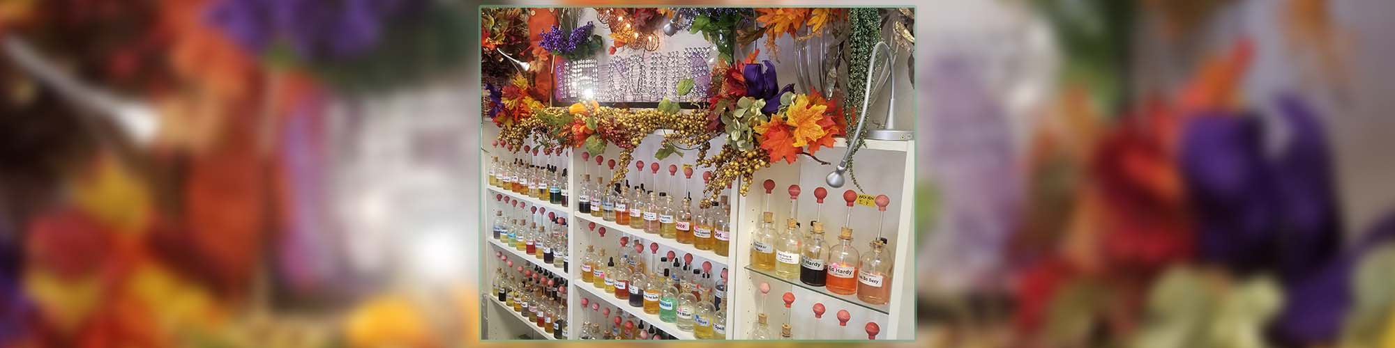 Wide Variety of Fragrance Oils